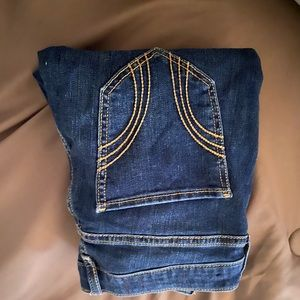 mid-rise super skinny hollister jeans
